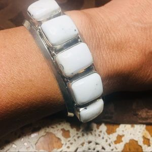 Navajo Vintage Sterling Silver Bracelet